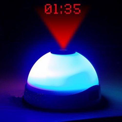 Pinklemon - Reloj despertador con proyector de hora en el techo ...