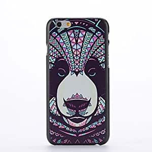 LCJ Animal Dog Design Pattern Plastic Hard Back Cover for iPhone 6 Plus