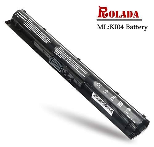 ROLADA K104 Notebook Battery Replacement for HP Pavilion 14-ab 14T-ab 15-ab 15-an 17-g Series TPN-Q158 HSTNN-LB6S HSTNN-LB6R; P/N 800049-001 800050-001 800010-421 800009-421