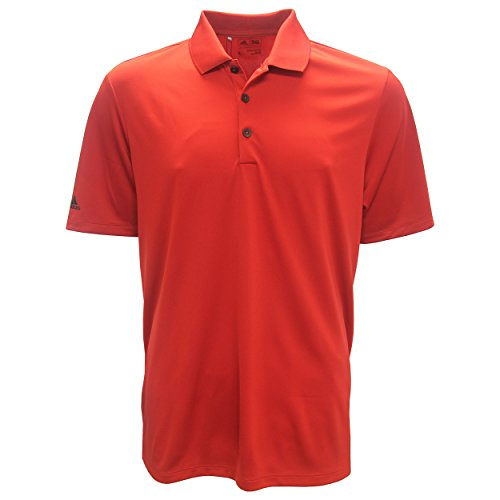 adidas Golf Men's Performance Polo Shirt, Power Red, XX-Large