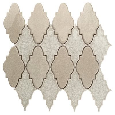 Crackle glass tile. Sabino Series. Brilliant White for sale  Delivered anywhere in USA