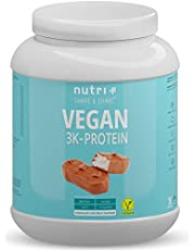 Veganistisch Eiwit Poeder 1kg - Nutri-Plus Vegan Protein Powder 3k - Eiwitshake 1000g