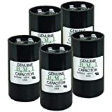 Pack of (5), 270-324 uF x 330 VAC - BMI Start Capacitor # 092A270B330CE7A - Made in The USA
