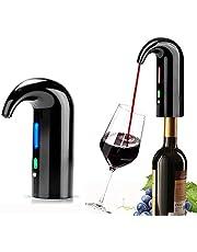 Brteyes Aerador elétrico de vinho recarregável por USB, dispensador automático de vinhos com design magnético