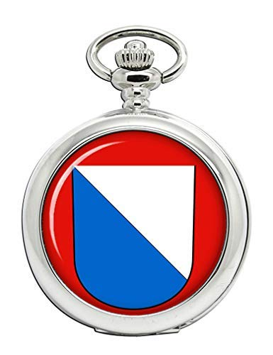 Zúrich (Suiza) Full Hunter reloj de bolsillo: Amazon.es: Relojes