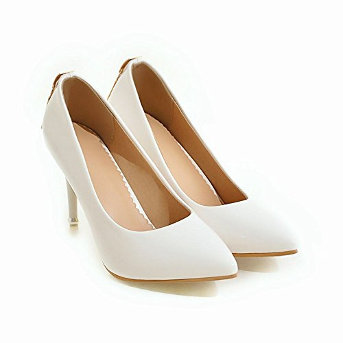 resbalón moda de corte Stiletto punta Mee la de blanco de Shoes en en los mujer la zapatos pAvxqSIwxX