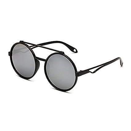 Amazon.com: baynne Aviator plano lentes de espejo anteojos ...