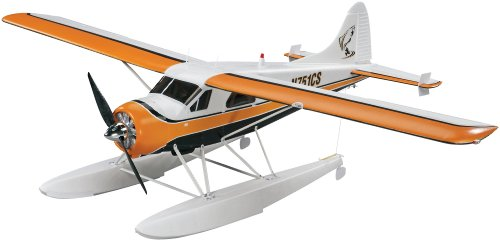 Radio Controlled Rc Model Airplane (Flyzone DHC-2 Beaver Select Scale Electric Powered Transmitter Ready (Tx-R) Prime Radio Controlled Airplane)