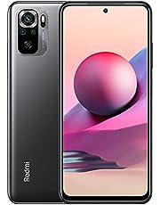 Redmi Note 10S Smartphone RAM 6 GB ROM 128 GB 6,43 '' AMOLED DotDisplay 64 MP camera 33 W snel opladen MediaTek Helio G95 3,5 mm koptelefoonaansluiting 5000 mAh (typ) Batterij grijs [Wereldwijde versie]
