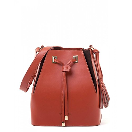 Pleated Drawstring (Spice) (Collection Pleated Shoulder Bag)