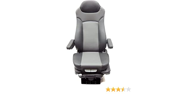 Prime Seating Leather Truck Seat 400L Air Suspension Truck Bus Seat