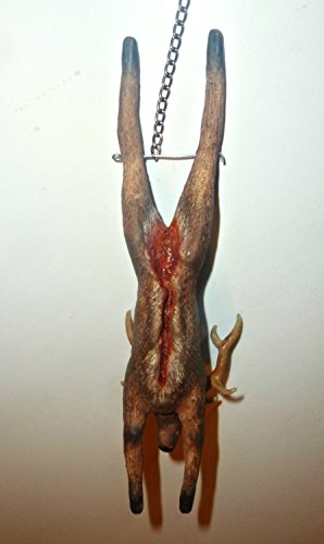 Deer meat, butcher, fresh meat, gutted deer,deer,deer antlers,farm, village,rustic style, the hunter,the food. Dollhouse miniature 1:12