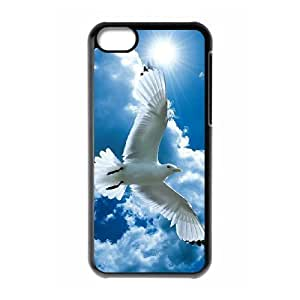 White Dove Use Your Own Image Phone Case for ipod Touch 4 ,customized case cover ygtg584798