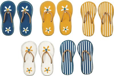 Set of 10 Magnet - ''Flip Flop'' by Heart of America