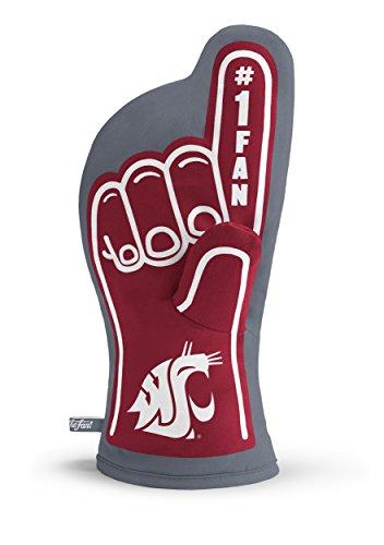 YouTheFan NCAA Washington State Cougars #1 Oven Mitt ()