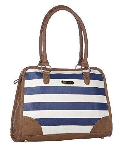 Peperone Designer PU Leather Handbag Shoulder Purse Women`s Tote Bag