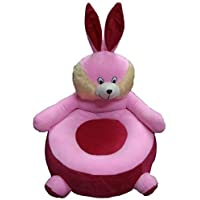 Prachi Toys Imported Premium Quality Stool Soft Toy ChairCute Animal Shape Soft Toy Chair seat for Baby Sitting /Rocking Chair for Kids