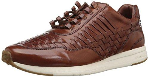 Cole Haan Men's Grandpro Runner Huarache Sneaker, Woodbury Woven Burnish, 12 Medium US by Cole Haan