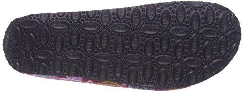Scholl LARETH F259461859 Zapatillas para Señoras Multicolor (violeta multi/violeta)