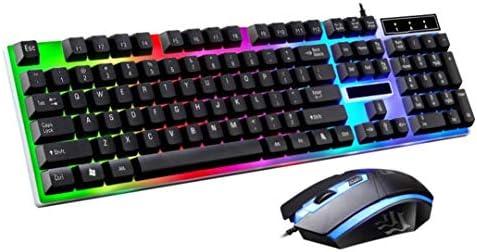 STRIR LED Retroiluminación USB con Cable Pack de Teclado y Ratón Gaming (Negro): Amazon.es: Instrumentos musicales