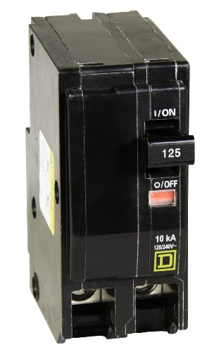 Square D by Schneider Electric QO2125CP QO 125-Amp Two-Pole Circuit Breaker by Square D by Schneider Electric