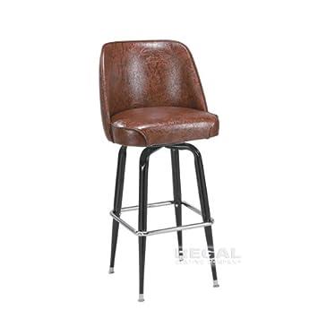 Prime Amazon Com Regal P2 Ribiero 26 Metal Swivel Counter Stool Bralicious Painted Fabric Chair Ideas Braliciousco