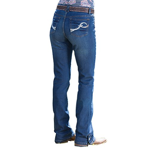 Rod's Button Me Up Dark Wash Jean, 17W x 34L (Cruel Girl Relaxed Jeans)
