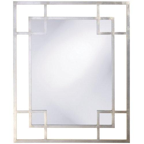 Howard Elliott 51219 Lois Mirror, Platinum Silver -