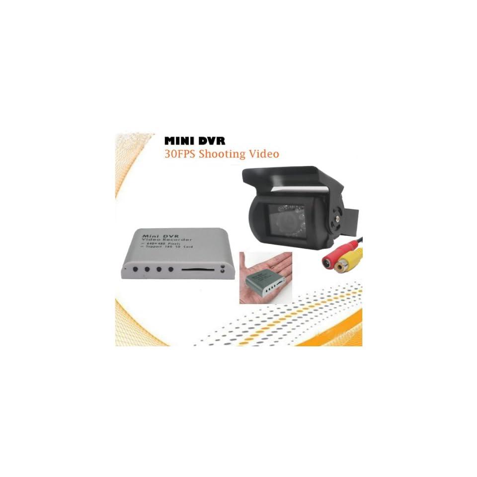 ZC839/ZR739 Mini Motion Detect DVR and Camera for Car