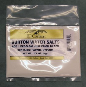 Burton Water Salts- 0.33 oz. by Midwest Homebrewing and Winemaking Supplies