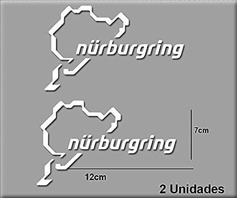 Pegatinas NÜRBURGRING R82 Vinilo ADESIVI Decal AUFKLEBER КЛЕЙ Stickers Car Voiture Sport Racing