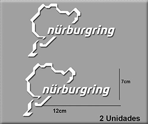Pegatinas N/ÜRBURGRING R82 Vinilo ADESIVI Decal AUFKLEBER КЛЕЙ Stickers Car Voiture Sport Racing