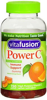 VitaFusion Power C Gummy Vitamins for Adults Absolutely Orange - 150 ct, Pack of 6 by Vitafusion