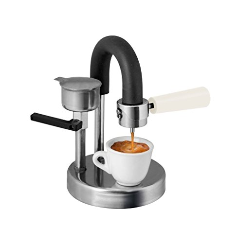 Kamira white version, the creamy espresso at home on your gas. THE PERFECT CHRISTMAS PRESENT! INSCRIPTION WITH ENGRAVING FOR FREE