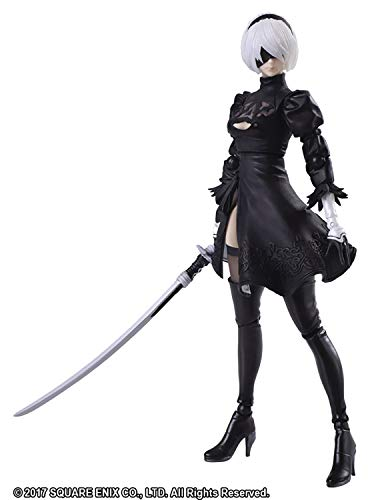 Square Enix Nier Automata: Bring Arts 2B Yorha No. 2 Type B 2.0 Action Figure