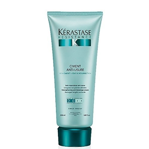 - Kerastase Resistance Ciment Anti-usure Strengthening Anti-breakage Creme, 6.8 Oz
