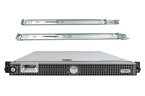 Dell PowerEdge 1950 Server, 2 x Xeon 3.0GHz E5450, 64GB DDR2, 4TB SAS, PERC 6i RAID, DRAC 5 Enterprise, Rail Kit (Renewed)