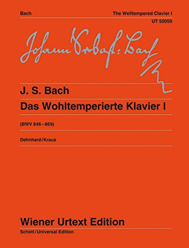 - Bach: The Well-Tempered Clavier - Book 1, BWV 846-869
