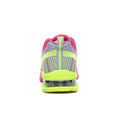 41 Gimnasia Deporte Logobeing Deportivas 35 Para Con De Zapatillas Estudiante Running 861 Sneakers Tejidos Aire Cojines Zapatos Mujer Net Volar Gris Calzado H6wq6a