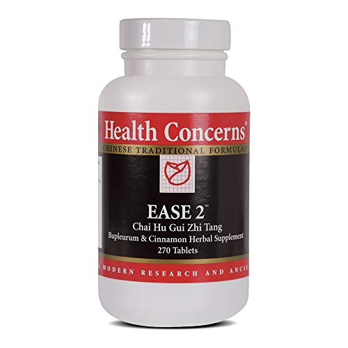 Health Concerns - Ease 2 - Chai Hu Gui Zhi Tang Bupleurum & Cinnamon Herbal Supplement - 270 Tablets