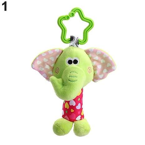 Dontdo - Mancuerna para bebé con diseño de animales de dibujos animados 1# Talla:Elephant: Amazon.es: Bebé