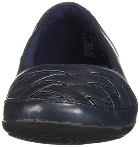 navy Mujer Azul Gracelin 37 Maze Leather Clarks Eu Marino azul qYxHWw