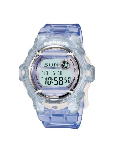 Casio BG-169R-6ER Ladies Baby-G Purple Digital Watch