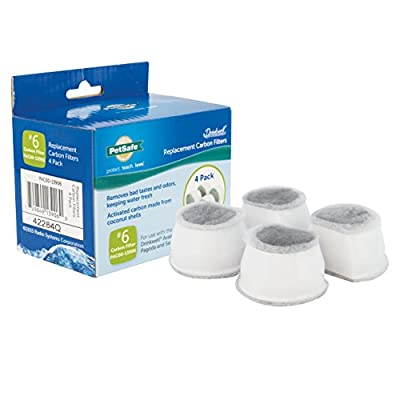 Cat Water Fountain PetSafe Drinkwell Replacement Carbon Filters, Dog and Cat Ceramic... [tag]