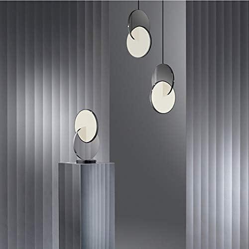 Chandelier Bedroom Bedside Metal LED Chandelier Home Living Room Dining Room Ceiling Light Hotel Cafe Decoration Lamp 25 * 38CM MJZHJD