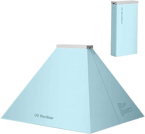 WenFei shop - Esterilizador portátil para móviles con carga USB, limpiador de teléfono móvil, caja de luz UV-C, tapa para cepillos de dientes, joyas: Amazon.es: Hogar
