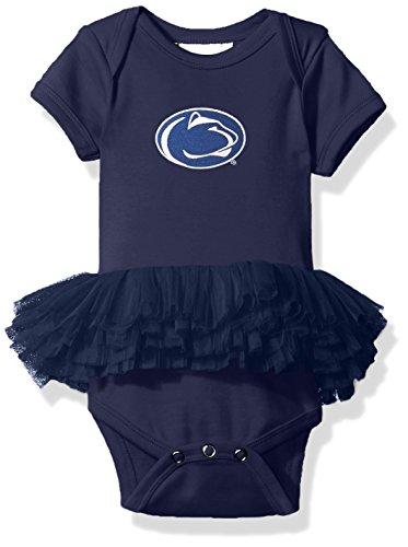 (Two Feet Ahead NCAA Penn State Nittany Lions Infant Tutu Creeper, New Born,)