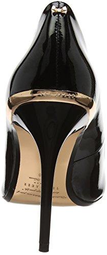 Ted Baker Kaawa 2, Scarpe Col Tacco Punta Chiusa Donna Nero (Black #000000)