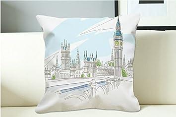 Amazon.com: Imagenes Gratis De Londres Pillow Case (20x20one ...