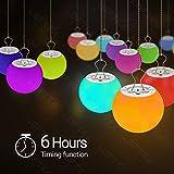 LOFTEK Hot Tub Glowing Balls, 3-inch RGB Color
